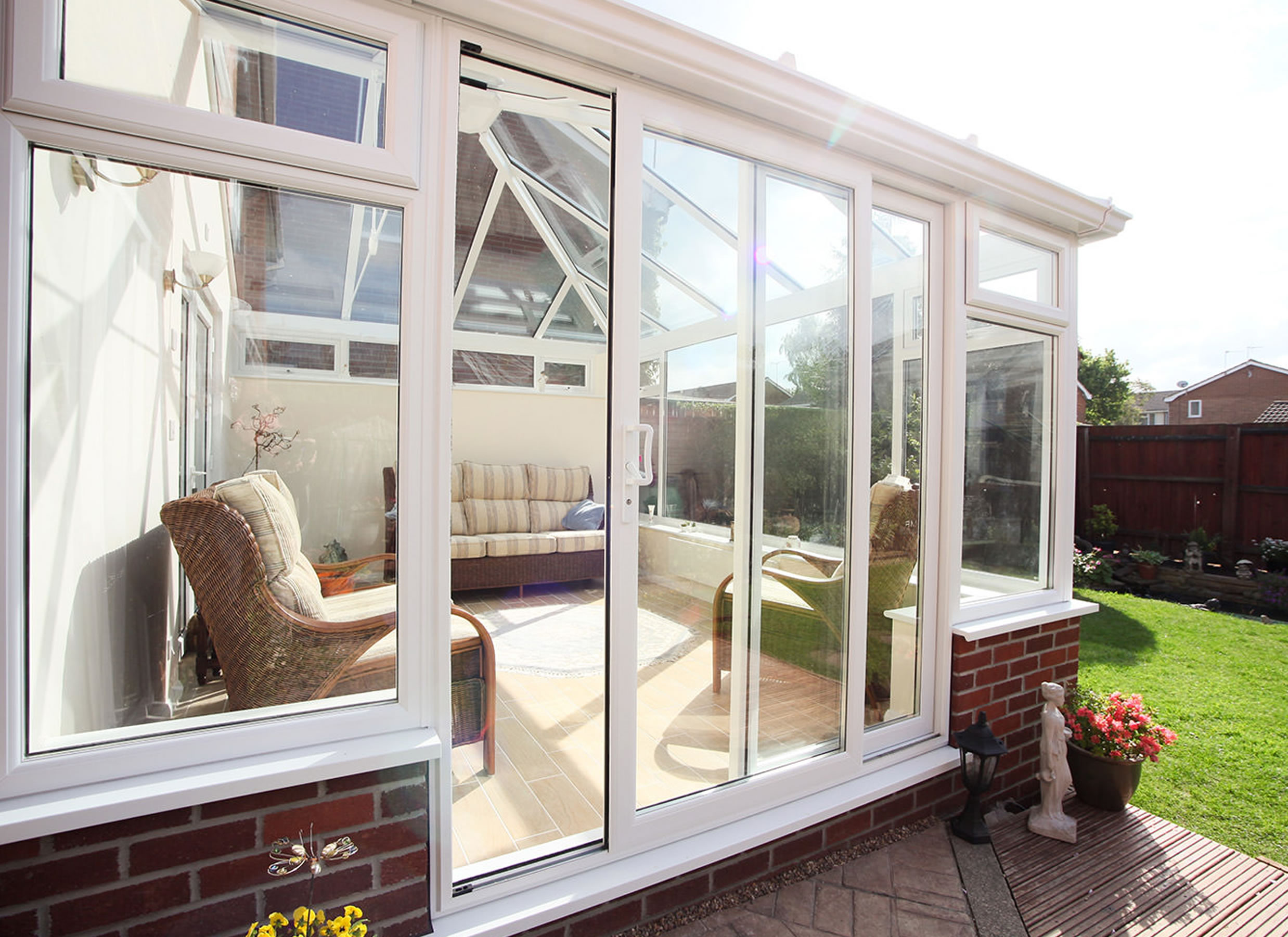 double glazed sliding patio doors