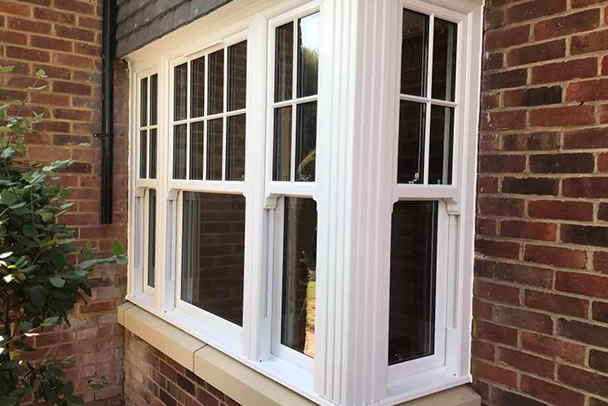 an image showing that we fit upvc replacement ecoslide windows in Clapham