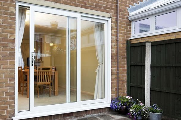 liniar patio doors in London