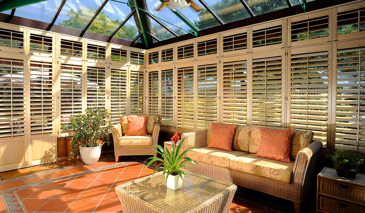 we install conservatory shutters in Sussex and London