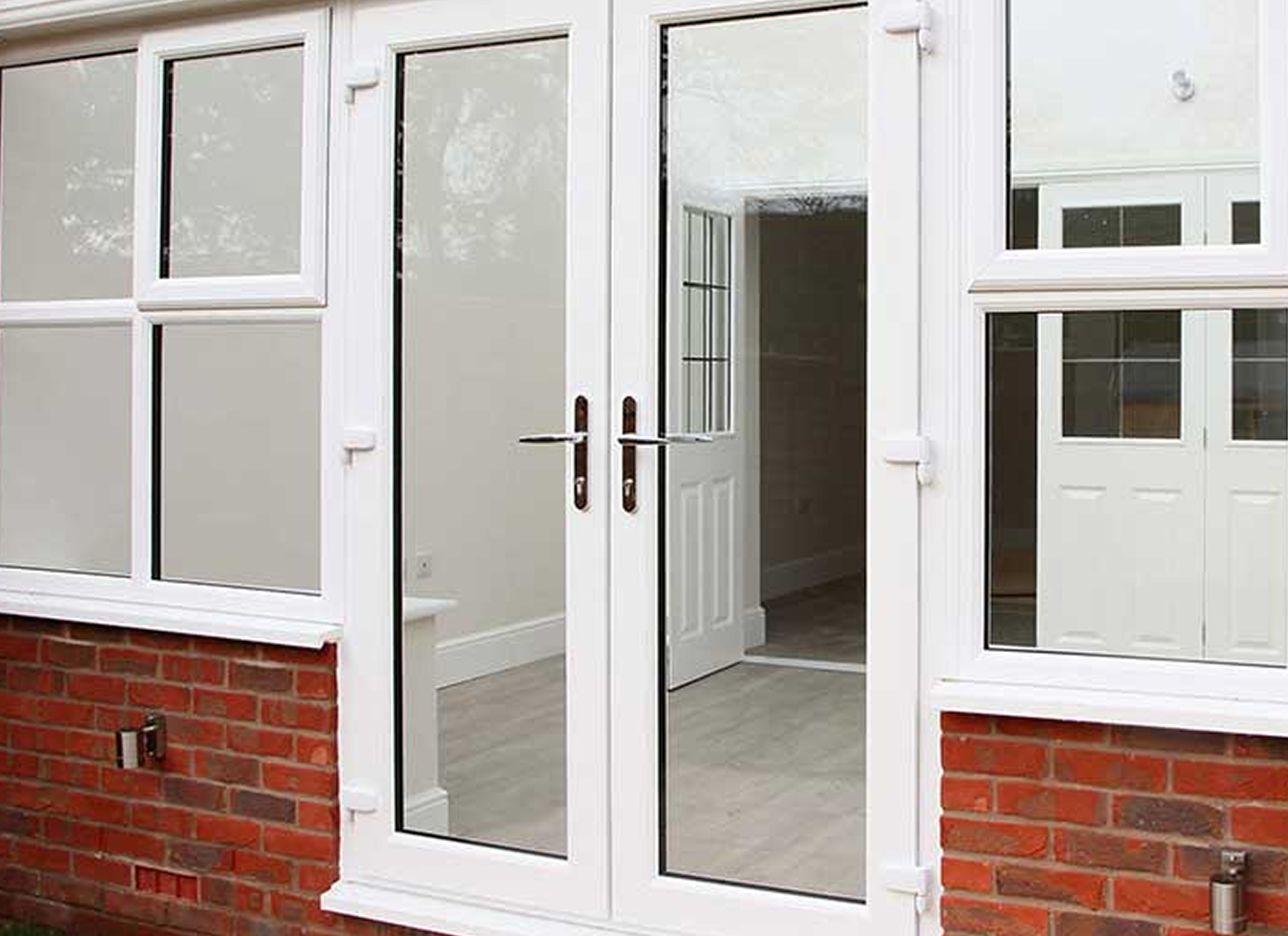 we install french doors