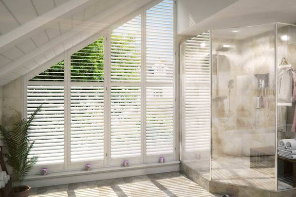 an image showing that we offer a wide range of window shutters in Clapham